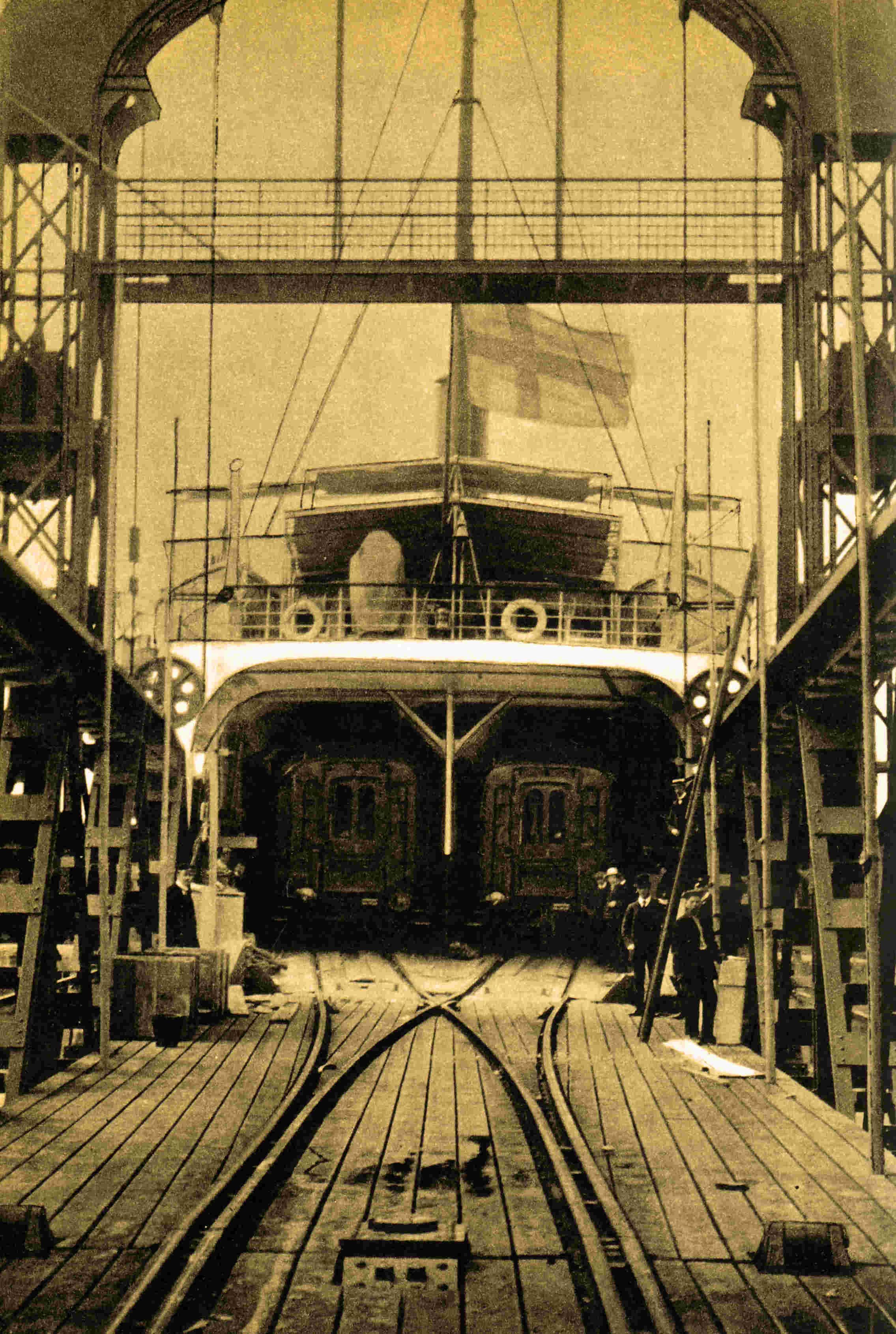 Ferry Drottning Victoria liaison Sassnitz-Trälleborg