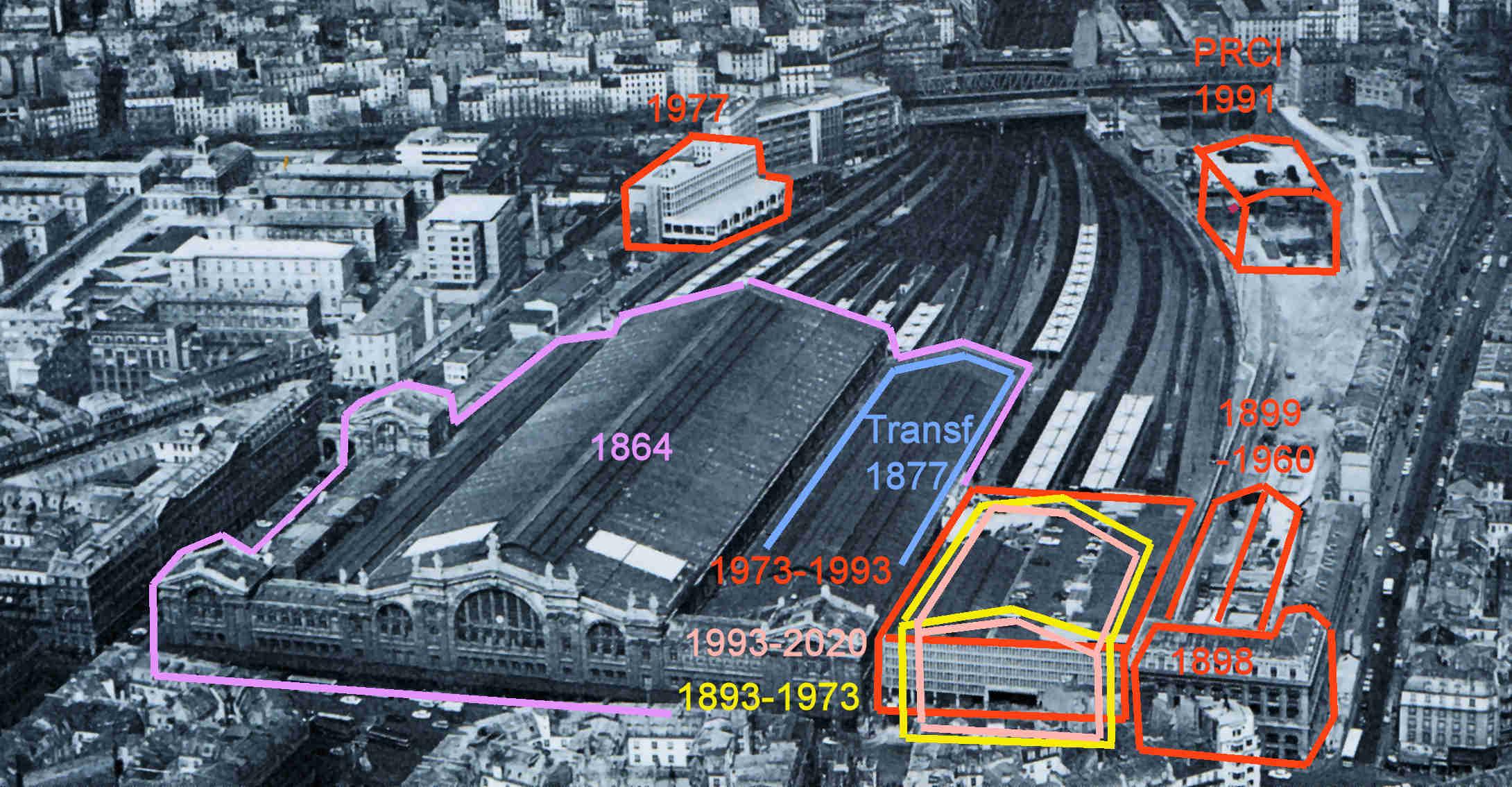 La gare du Nord: monument historique mais grande gare européenne. – Train  Consultant Clive Lamming